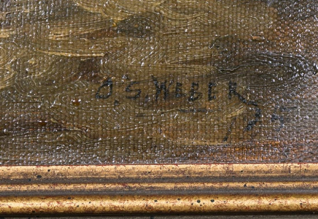 "Oits Weber, ""Trout Brook"" Forest Landscape, O/C. - 2"