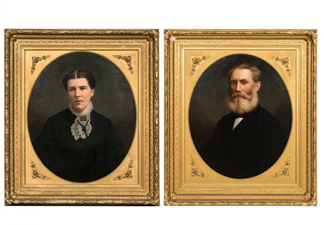 William Sawyer, Canadian Portraits of Man & Wife