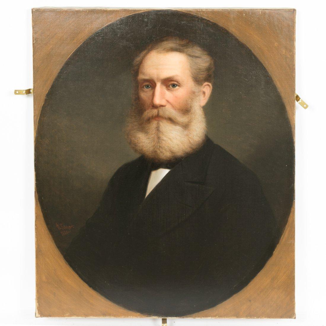 William Sawyer, Canadian Portraits of Man & Wife - 6