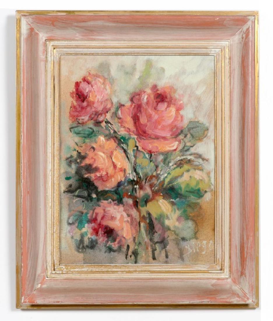 Antonio Diego Voci, Floral Still Life 20th Century