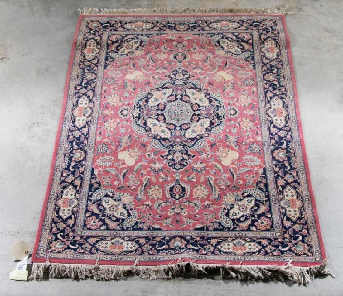 """Fine Hand Woven Tabriz Area Rug, 4' 2"""" x 5' 10"""""""