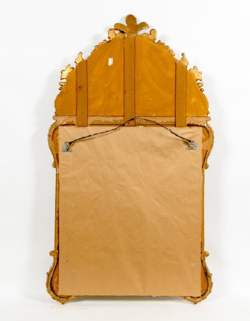 Louis XVI Style Giltwood Cushion Mirror - 2