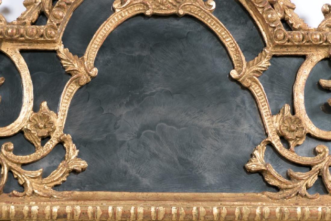 Louis XVI Style Giltwood Cushion Mirror - 4