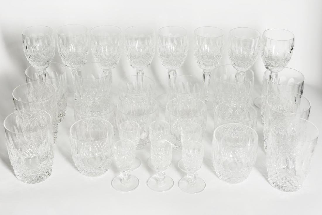 "30 Piece Waterford Crystal Set, ""Colleen"" Pattern - 2"