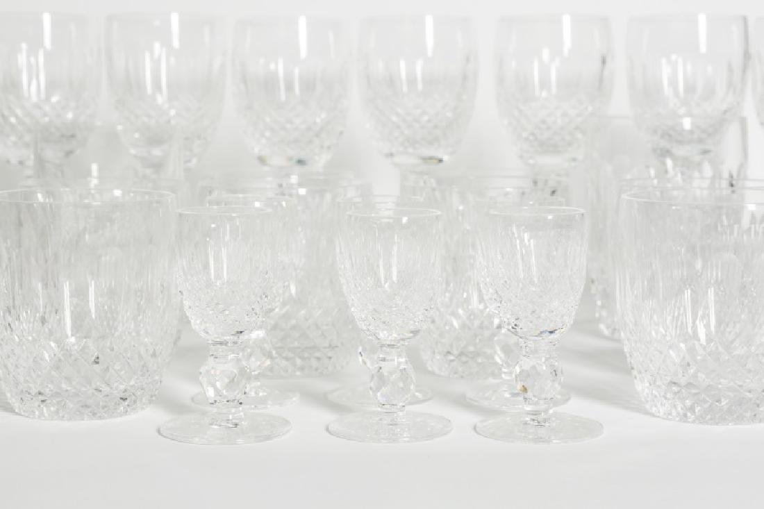"30 Piece Waterford Crystal Set, ""Colleen"" Pattern - 4"