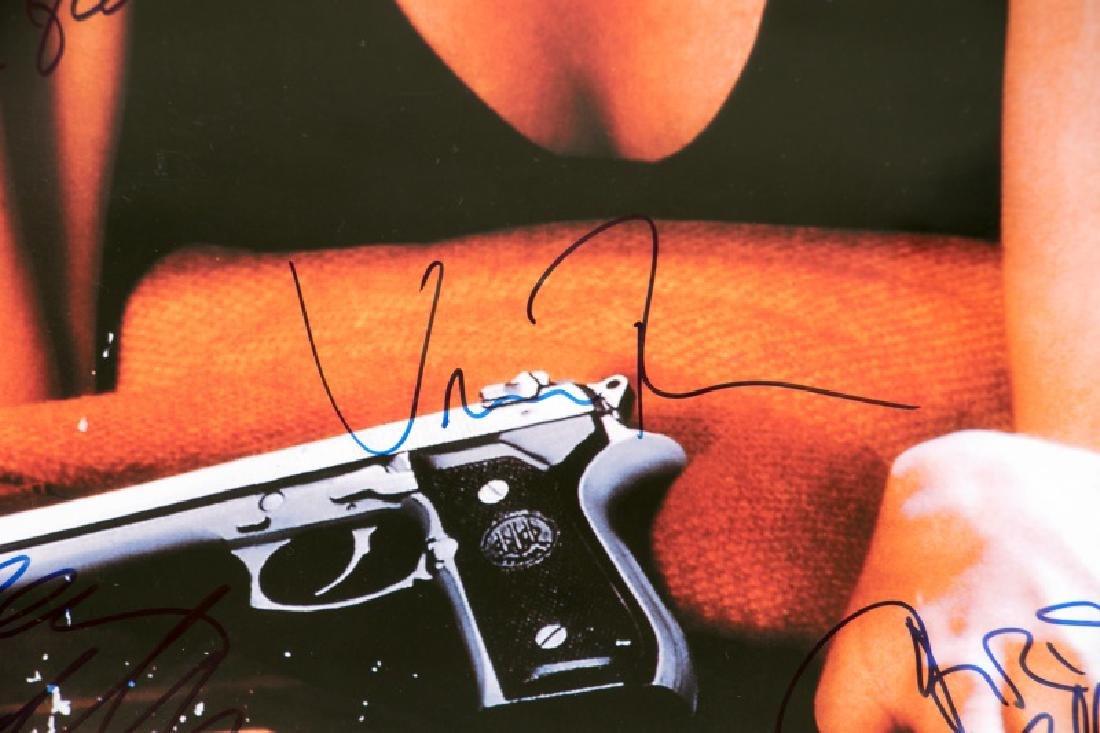 "Framed ""Pulp Fiction"" Cast Signed Movie Poster - 6"