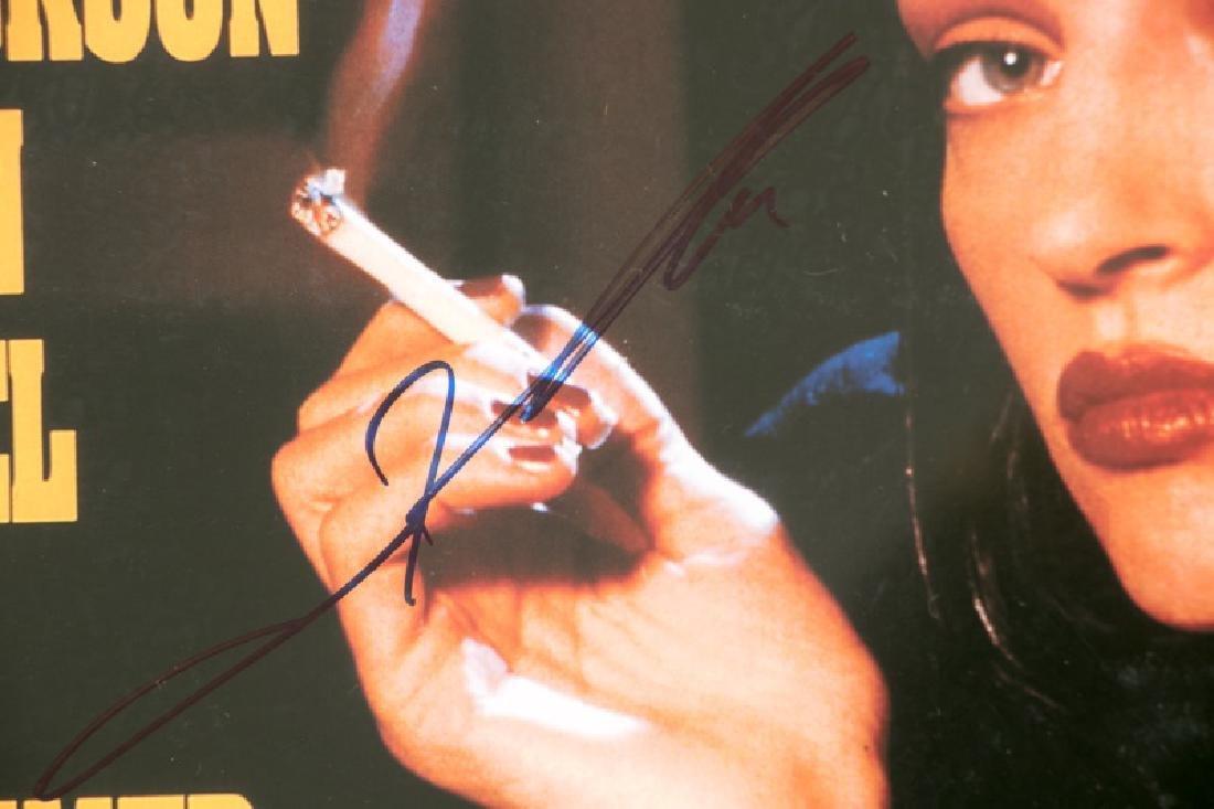 "Framed ""Pulp Fiction"" Cast Signed Movie Poster - 9"
