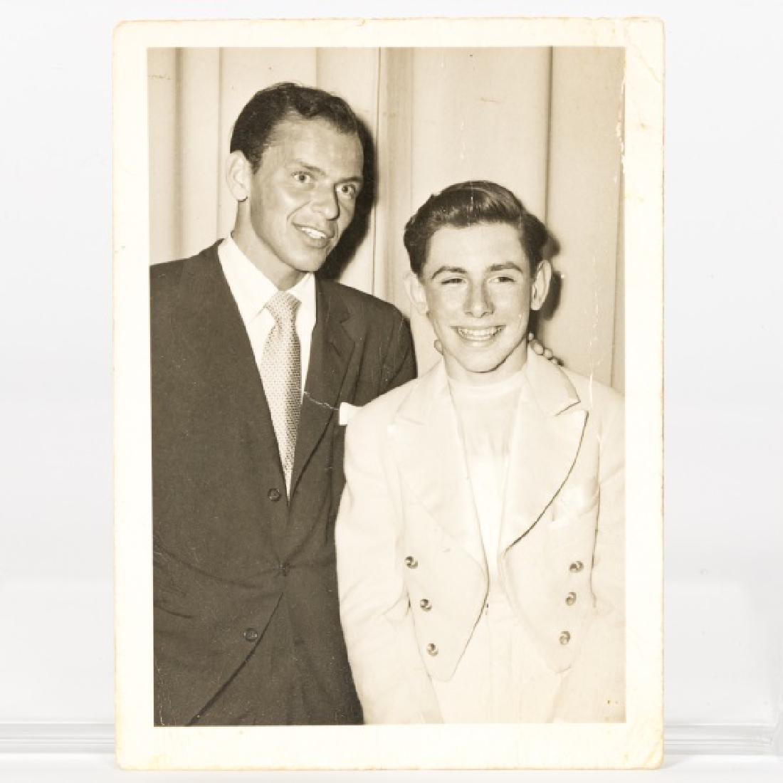 Frank Sinatra Signed Black & White Photograph