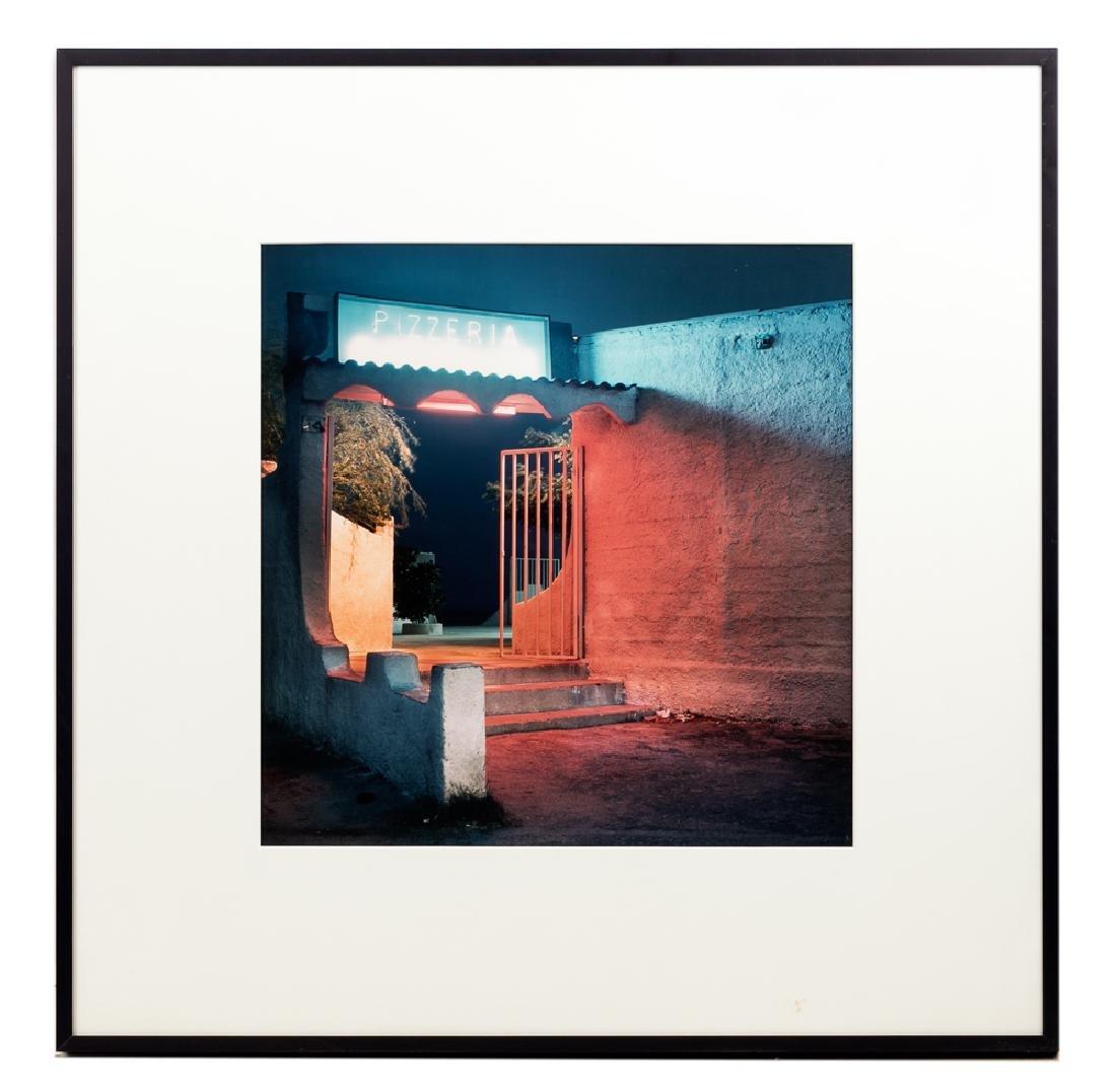 "Patty Carroll ""Pizzeria"" Cibachrome Print, 1988"