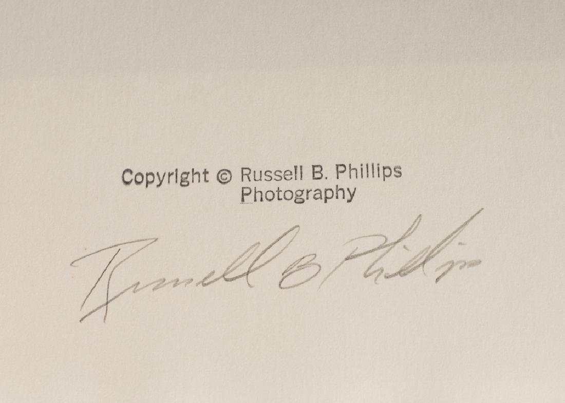 3 Russell B. Phillips Signed Dye Transfer Prints - 9