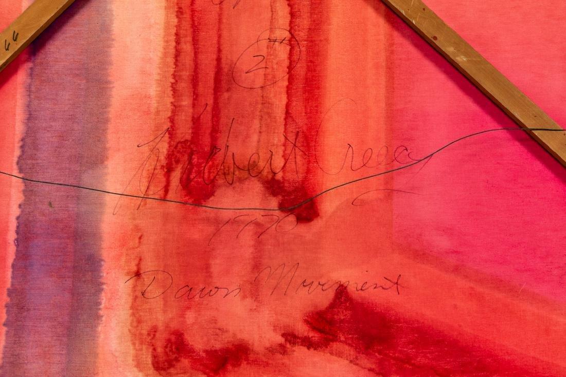 Herb Creecy, Dawn Movement 1970 - 3