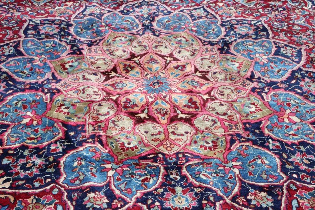 Hand Woven Persian Mashad Rug, 13' 3 x 16' 8 - 2