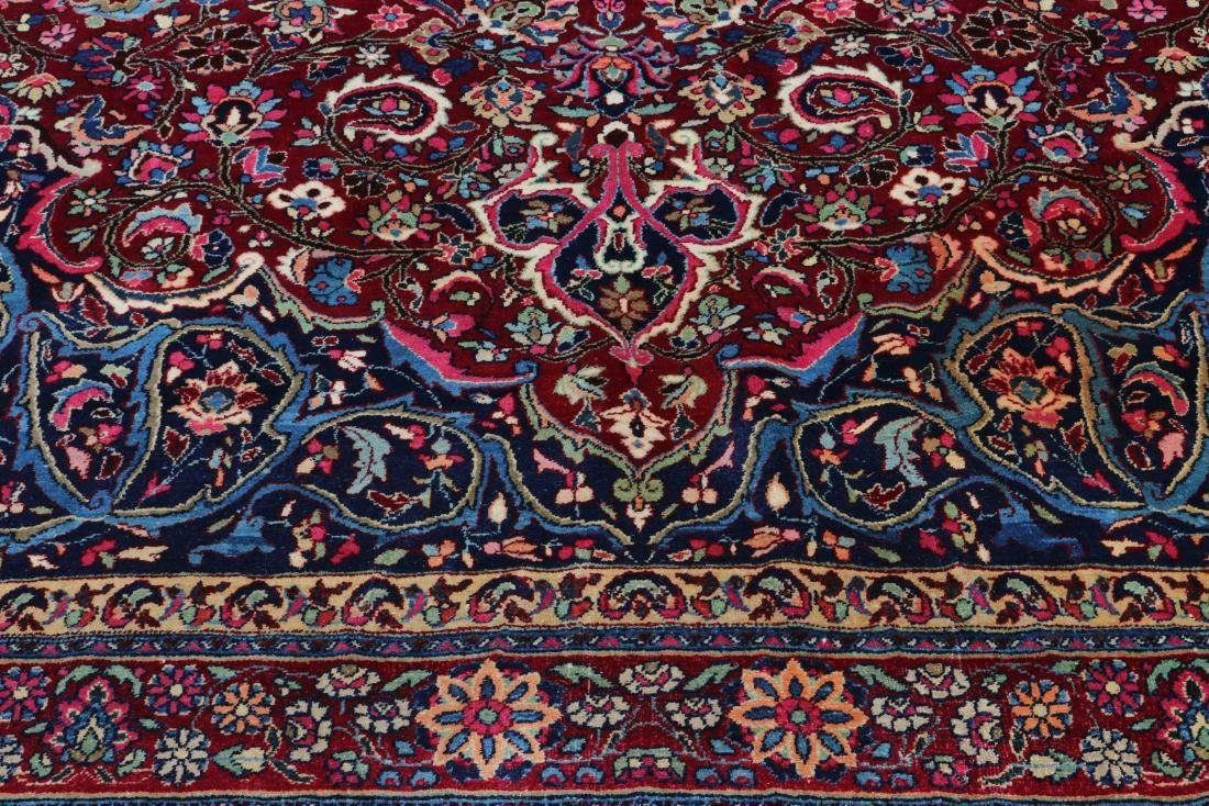 Hand Woven Persian Mashad Rug, 13' 3 x 16' 8 - 4