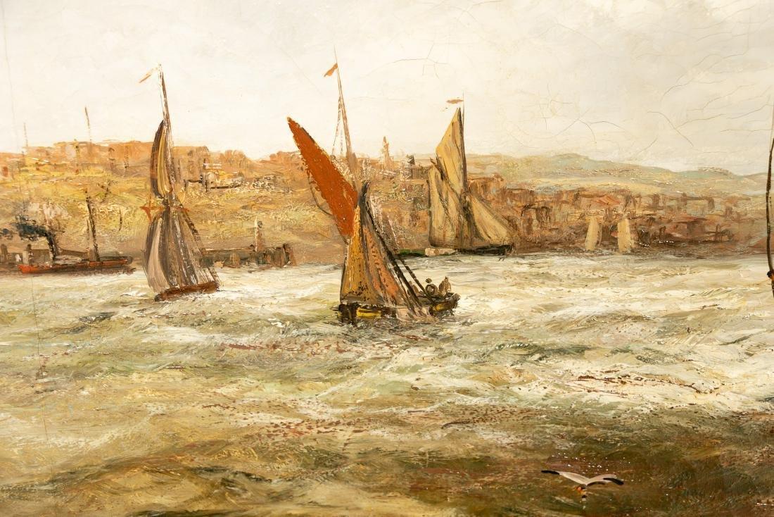Edwin Hayes, Oil on Canvas Irish Maritime Scene - 4