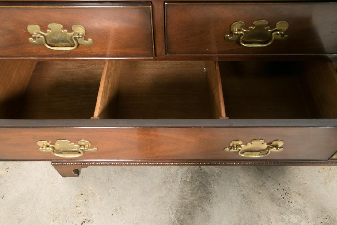 Kittinger Chippendale Style Mahogany Dresser - 4