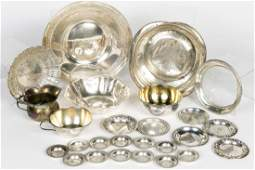 26 PCs Miscellaneous Sterling Table Top Items