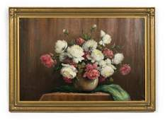 Grace Manners OC Floral Still Life Signed