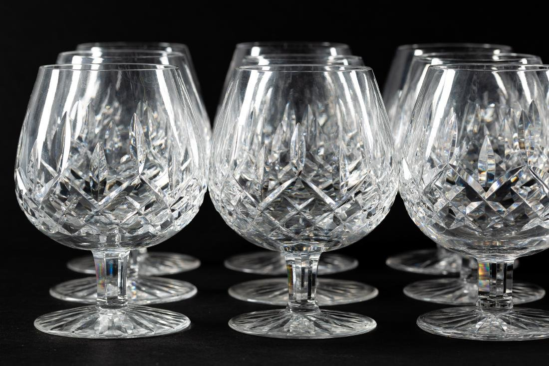 37 PC Waterford Crystal Set, Stemware & Jars - 4