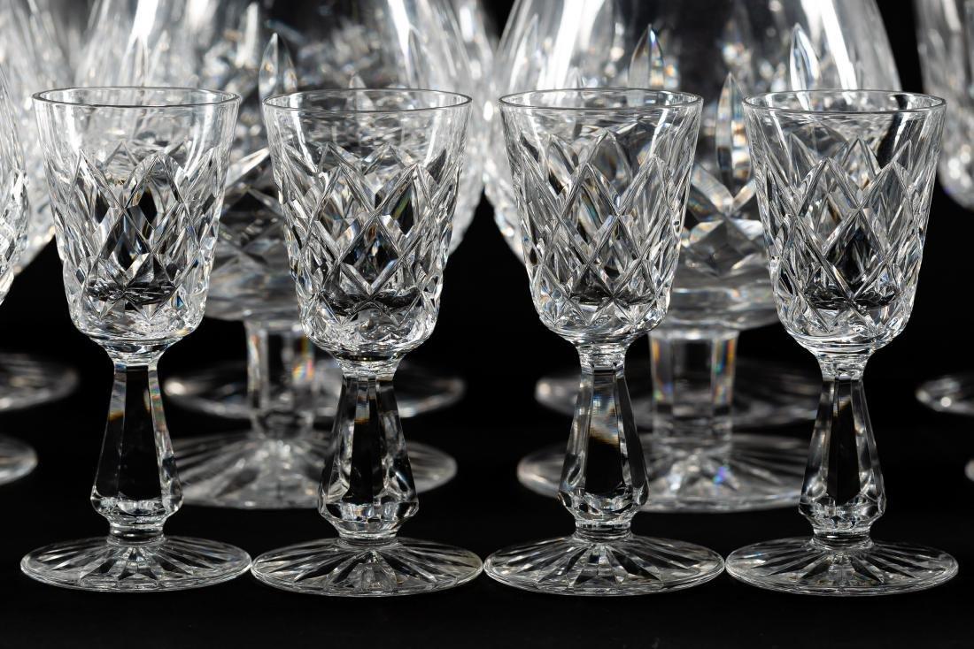 37 PC Waterford Crystal Set, Stemware & Jars - 5