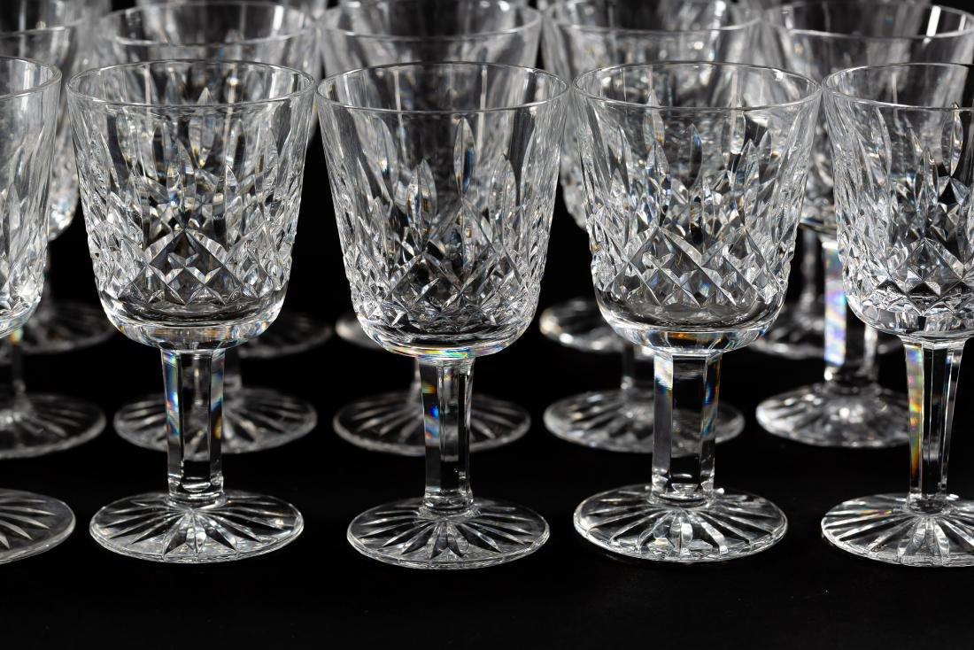 37 PC Waterford Crystal Set, Stemware & Jars - 6
