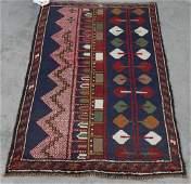 "Hand Woven Baluchi Rug or Carpet, 3' x 4' 8"""