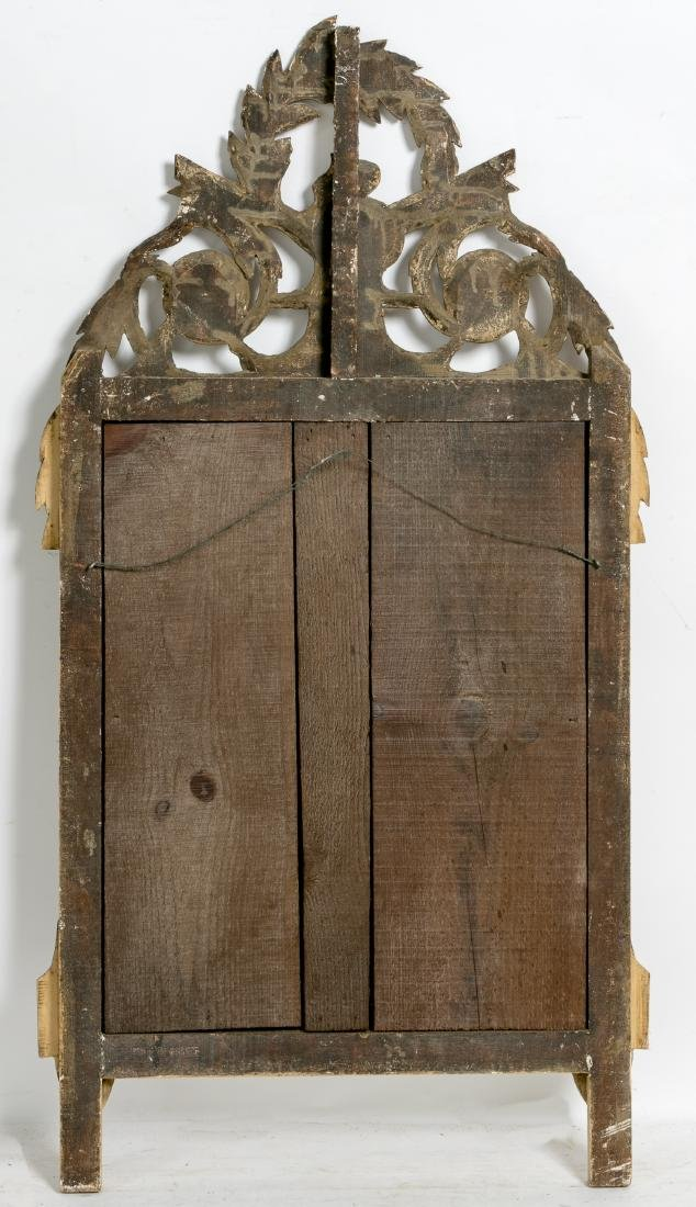 Carved Gilt Wood Mirror, Musical Instruments - 2