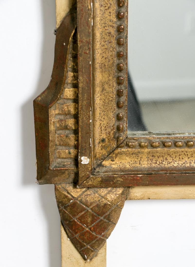 Carved Gilt Wood Mirror, Musical Instruments - 4