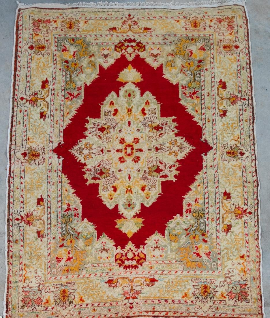 "Hand Woven Anatolian Rug or Carpet, 4' 2"" x 6' 4"""