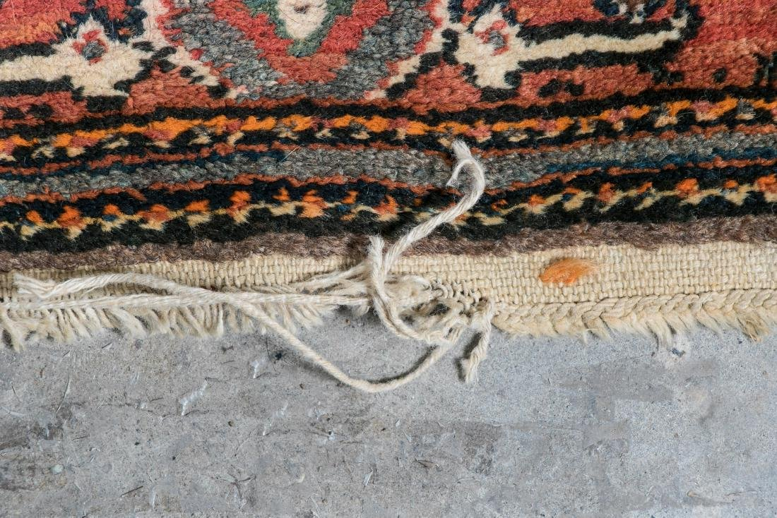 Hand Woven Malayer Rug or Carpet, 7' x 5' - 4