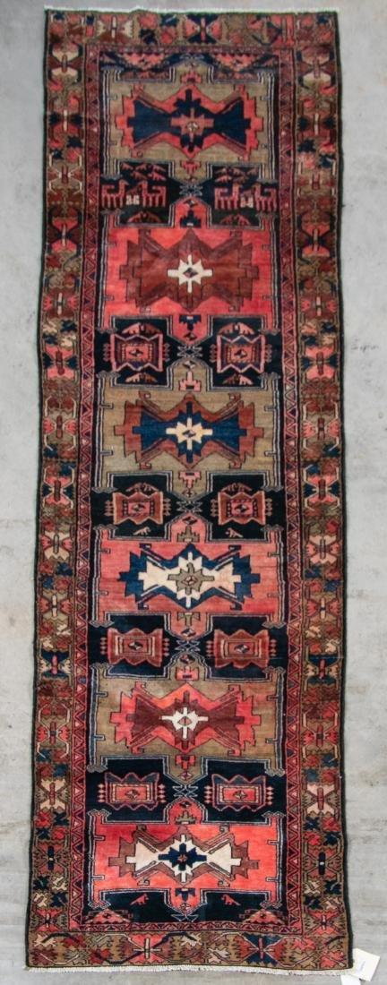 """Hand Woven Zanjon Rug or Carpet, 2' 11"""" x 10'"""
