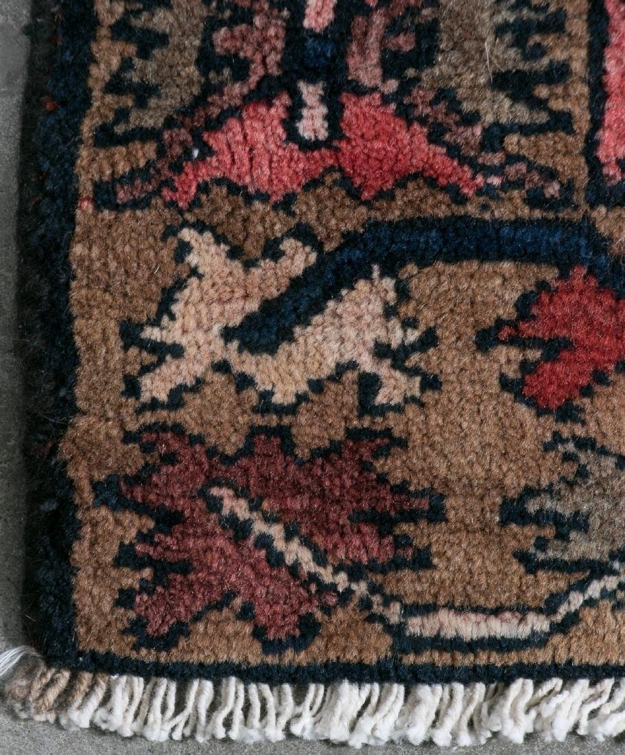"""Hand Woven Zanjon Rug or Carpet, 2' 11"""" x 10' - 2"""