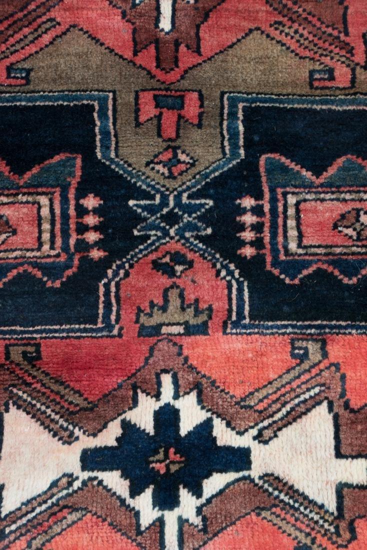 """Hand Woven Zanjon Rug or Carpet, 2' 11"""" x 10' - 3"""