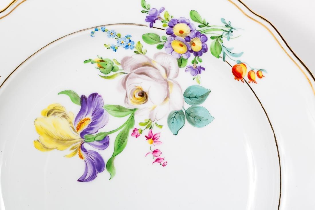 Meissen Porcelain Partial Dinner Service, Marked - 3
