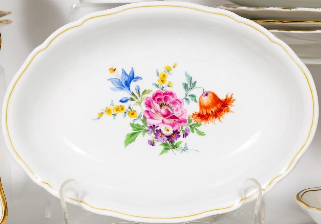 Meissen Porcelain Partial Dinner Service, Marked - 5