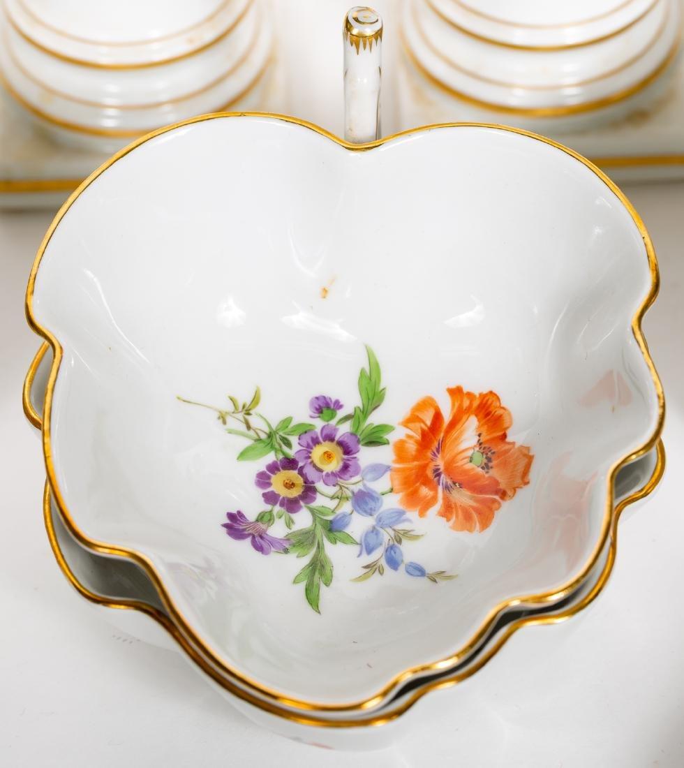 Meissen Porcelain Partial Dinner Service, Marked - 6
