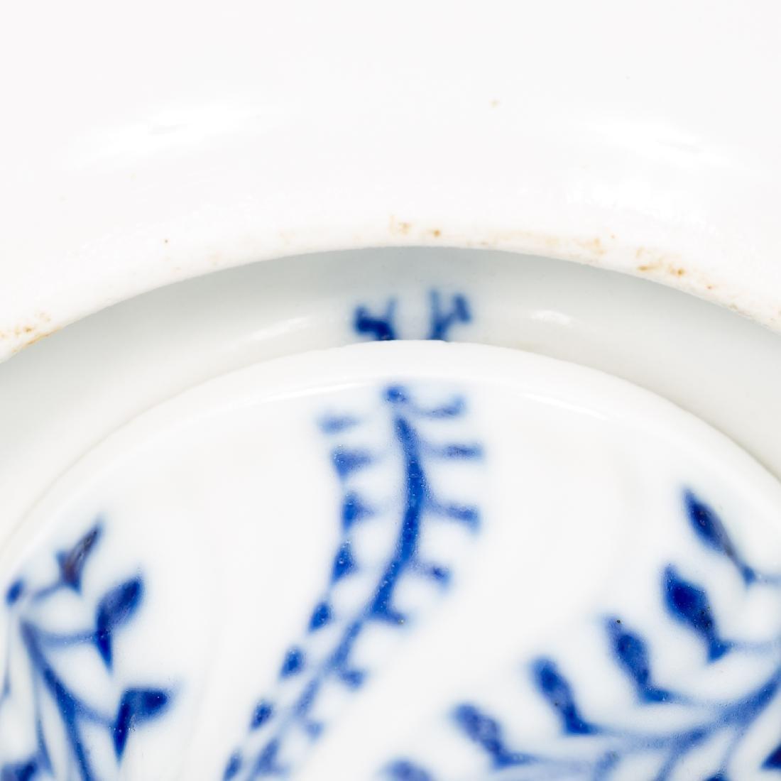 Meissen Blue & White Porcelain Compote / Bonbon - 6