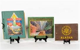 Three Bound Travel Albums with Photographs