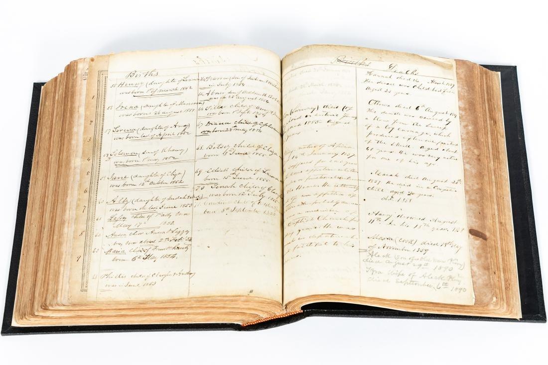 The Levensworth Plantation Slave Bible, 1829-1890 - 10