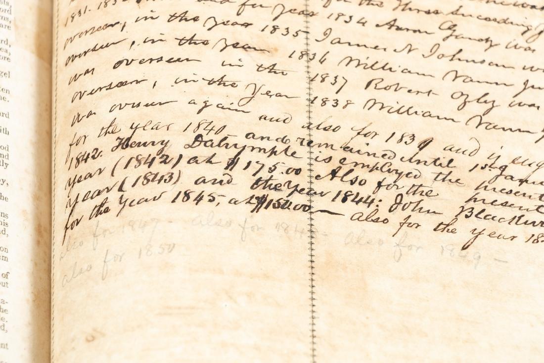 The Levensworth Plantation Slave Bible, 1829-1890 - 3