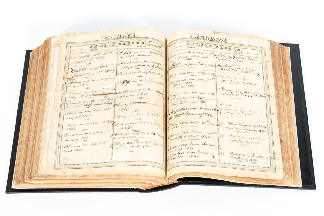 The Levensworth Plantation Slave Bible, 1829-1890 - 5