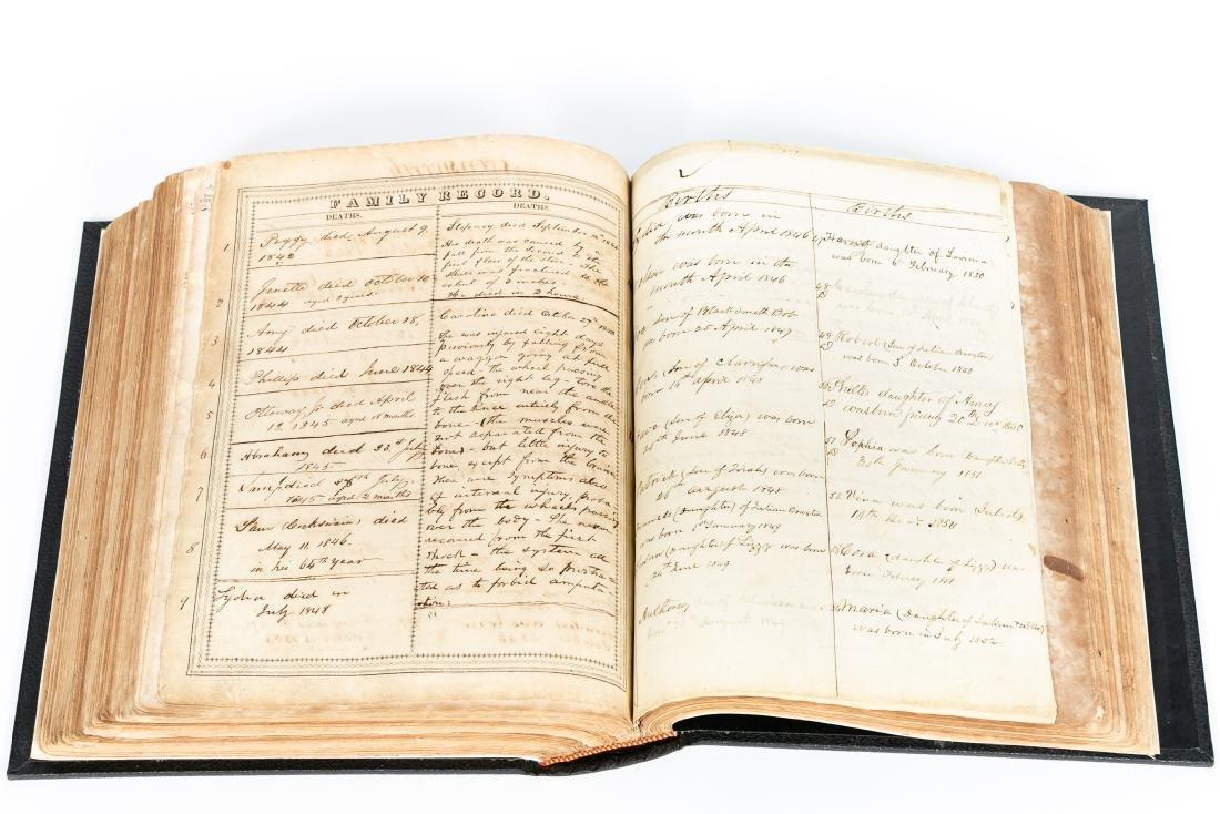 The Levensworth Plantation Slave Bible, 1829-1890 - 9