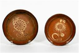 19th C. Shenandoah Valley Style Redware Bowls