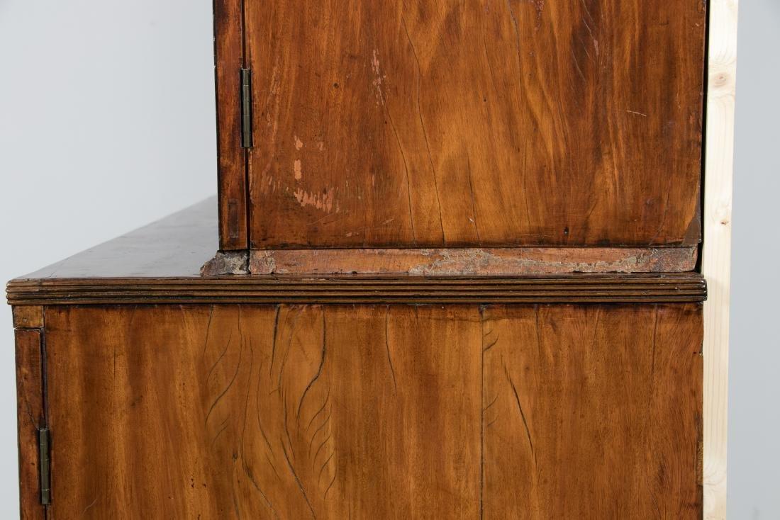 19th C. George III Mahogany Secretary Bookcase - 6