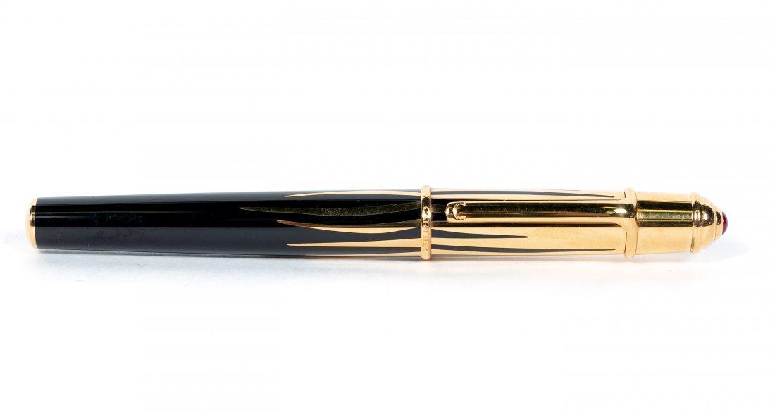 Mini Diabolo de Cartier Fountain Pen, Noir & Gold - 2