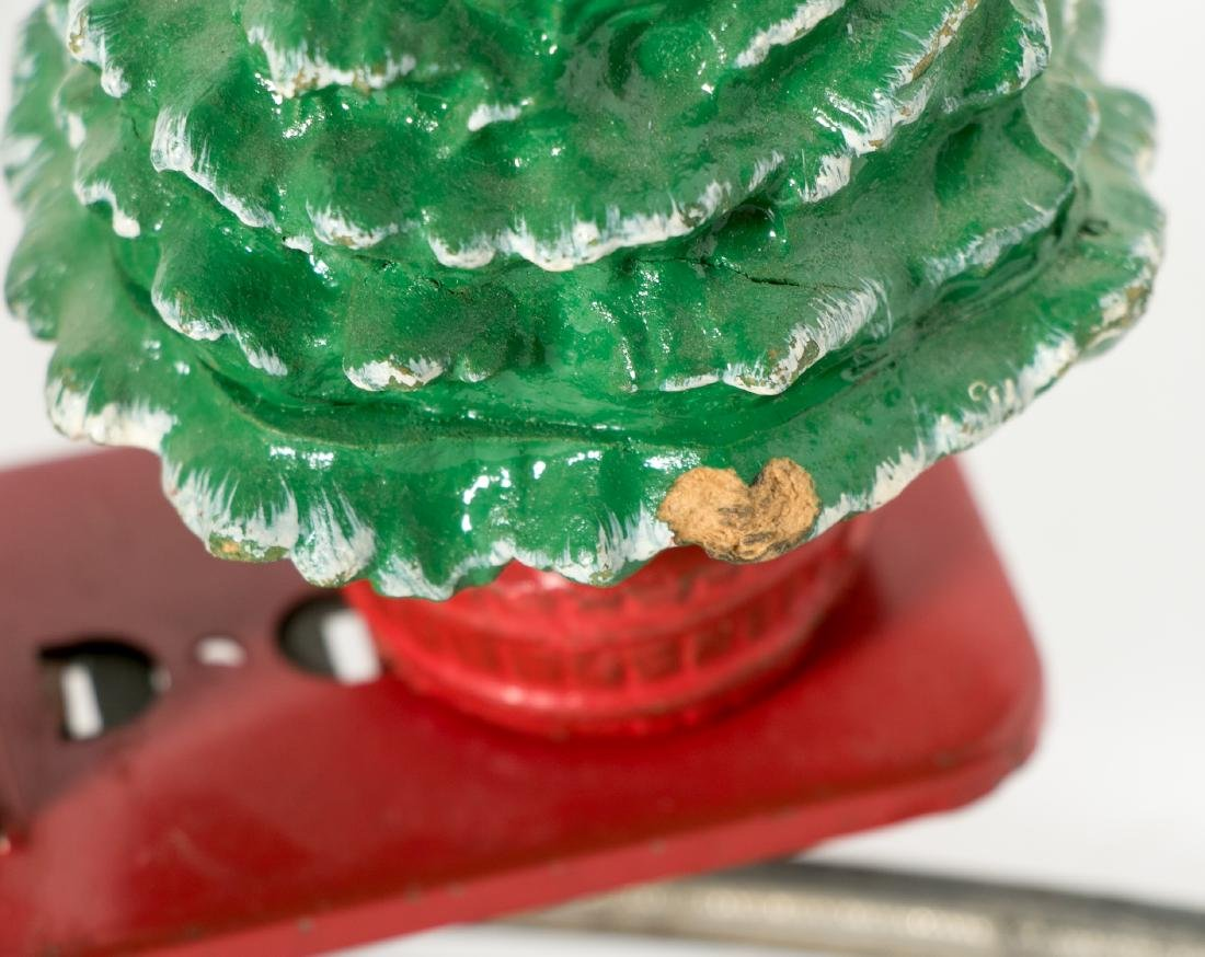 Lionel Mickey Mouse Santa Handcar #1105, pressed - 5