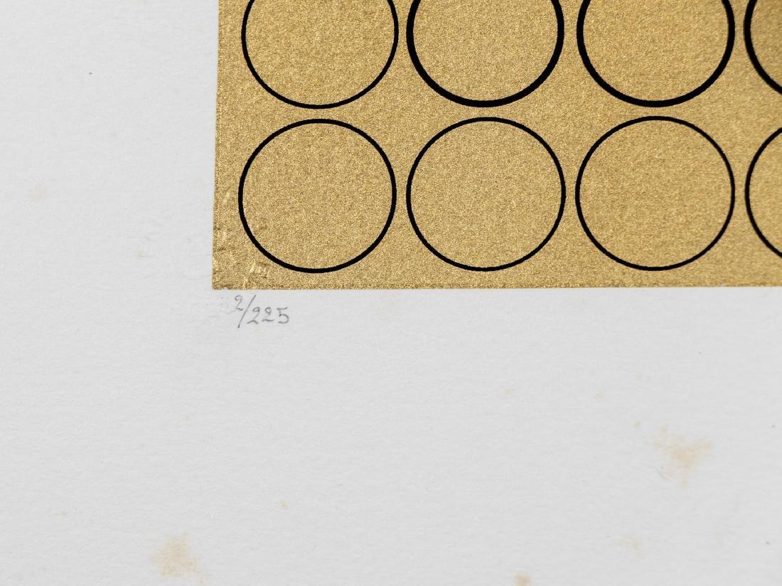 "Victor Vasarely Unframed Serigraph, ""Meta V"" - 2"