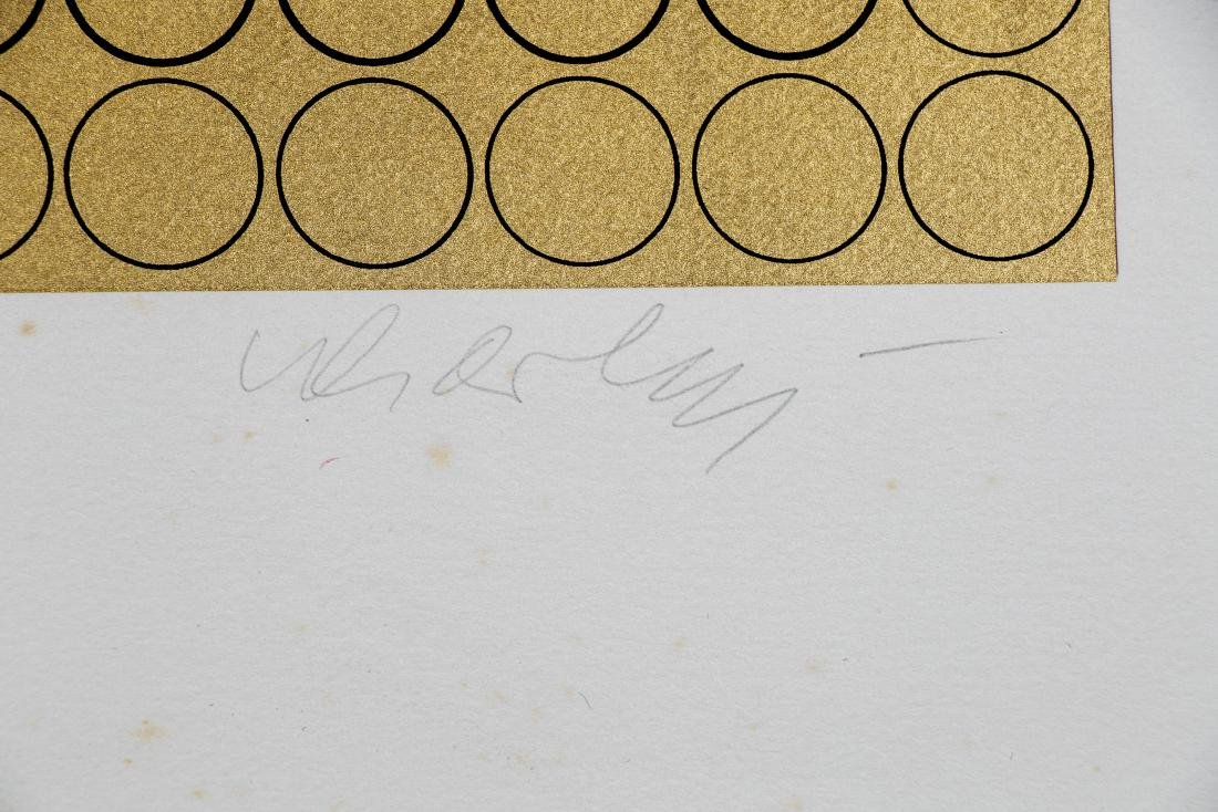"Victor Vasarely Unframed Serigraph, ""Meta V"" - 3"