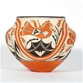 Acoma Pueblo Pottery Jar, Signed