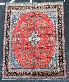 Hand Woven Hamedan Rug or Carpet 10 3 x 13 9
