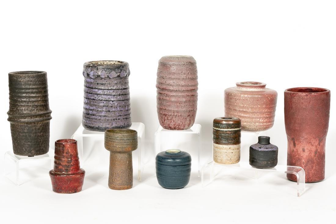 Ten Mobach Dutch Studio Ceramic Vases